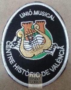 Escudo bordado banda música - Mario Torres - Valencia