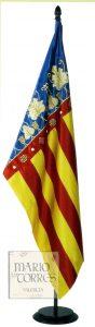 Banderas protocolo - Senyera - Mario Torres - Valencia