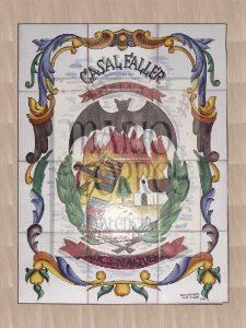 Cerámica en Azulejo - Mario Torres - Valencia