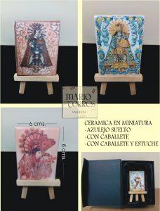 Cerámica en miniatura - Mario Torres - Valencia