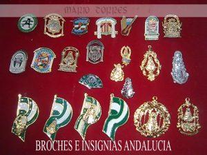 Motivos de Andalucía - Broches Andalucía - Mario Torres - Valencia