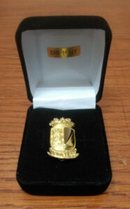 Insignia de oro de ley - Insignias y pins - Mario Torres - Valencia