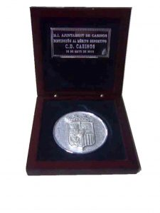 Medalla de plata con estuche - Mario Torres - Valencia