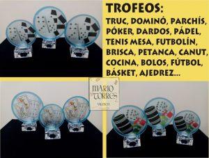 Trofeos Cristal - Mario Torres - Valencia