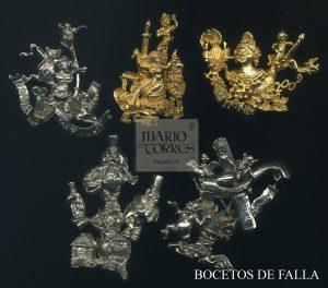 Bocetos de fallas - Insignias y pins - Mario Torres - Valencia