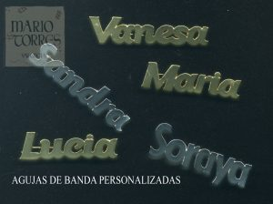 Agujas de banda personalizadas - Insignias y pins - Mario Torres - Valencia