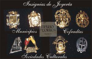 Insignias de joyería - Insignias y pins - Mario Torres - Valencia