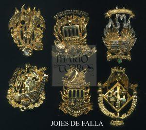 Joyas de falla - Insignias y pins - Mario Torres - Valencia