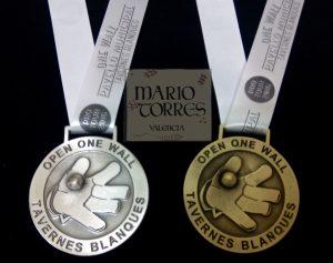 Medallas - Mario Torres - Valencia