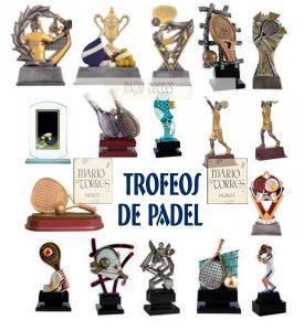 Trofeos resina - Mario Torres - Valencia