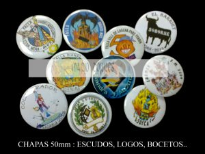 Artículos de promoción y publicidad  - Chapas - Mario Torres - Valencia