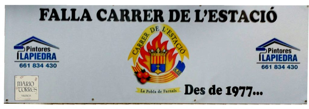 Artículos de promoción y publicidad  - Pancarta de lona 100x300 - Mario Torres - Valencia