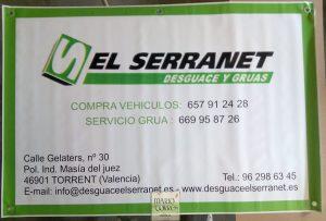 Artículos de promoción y publicidad  - Pancarta de lona 100x150 - Mario Torres - Valencia
