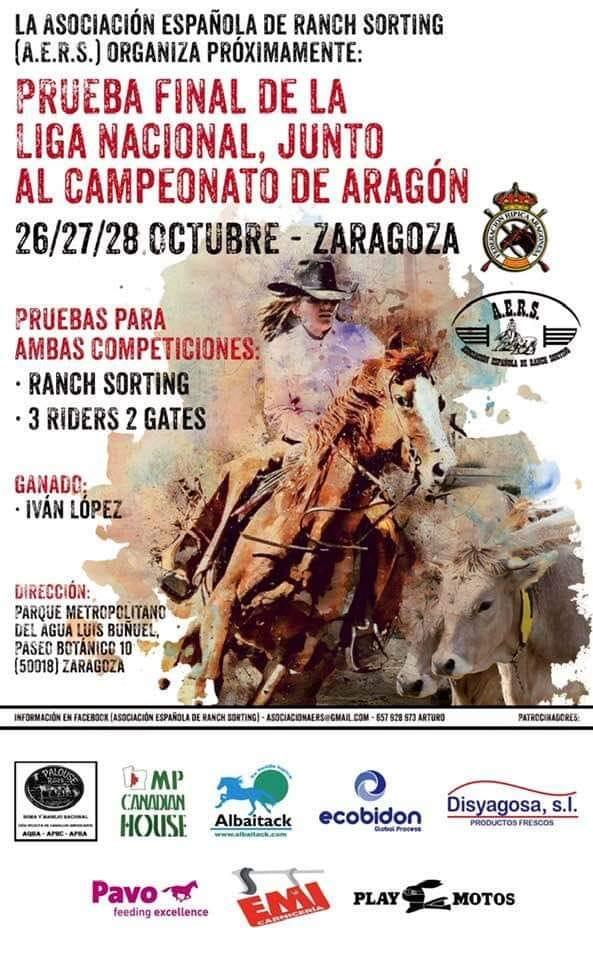 Final de Liga Nacional de Ranch Sorting en Zaragoza - Mario Torres Artesania - València