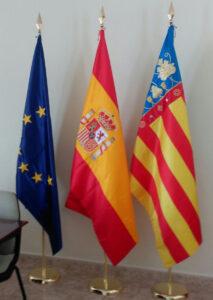 Bandera españa europa protocolo - Mario Torres - Valencia