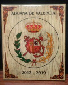 Placa madera color - Metopa -  Mario Torres - Valencia